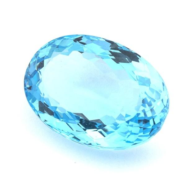 Виды топаза: небесно-голубой топаз