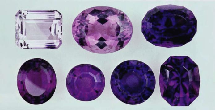 Виды аметиста