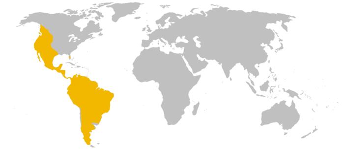 Распространение пумы